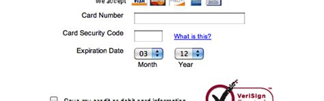 Credit Card Date Format Format The Expiration Date Fields Exactly As The Credit Card 40 Get It Wrong Articles