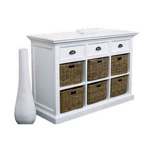 sideboards with baskets white painted furniture dining room sideboard with 6