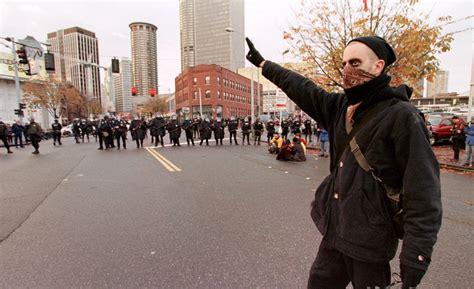 Black Block the black bloc protestors in hoodies started in germany in