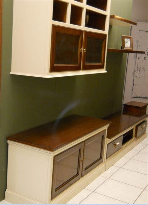 soggiorni in soggiorno le fablier parete soggiorno in legno bianco e