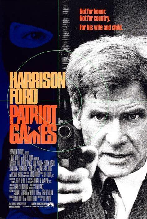 Patriot Games 1992 Full Movie Patriot Games Movie Poster Imp Awards