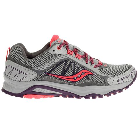 wide womens running shoes saucony s excursion tr9 running shoes wide width