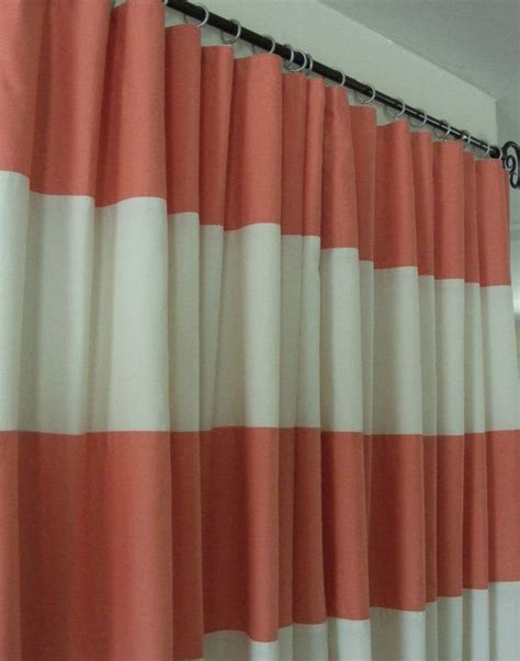 coral curtains baby bedding drapery nursery curtain panels coral and