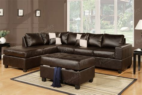 brown sectionals sectional sofa sectional couch in bonded leather