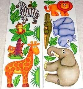 elephant safari jungle room wall decal decor