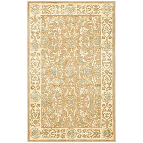 safavieh paradise rug safavieh paradise beige 2 ft 7 in x 4 ft area rug par08 606 24 the home depot