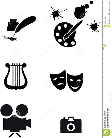 artes visuales imagenes y simbolos s 237 mbolos del arte imagenes de archivo imagen 16049744
