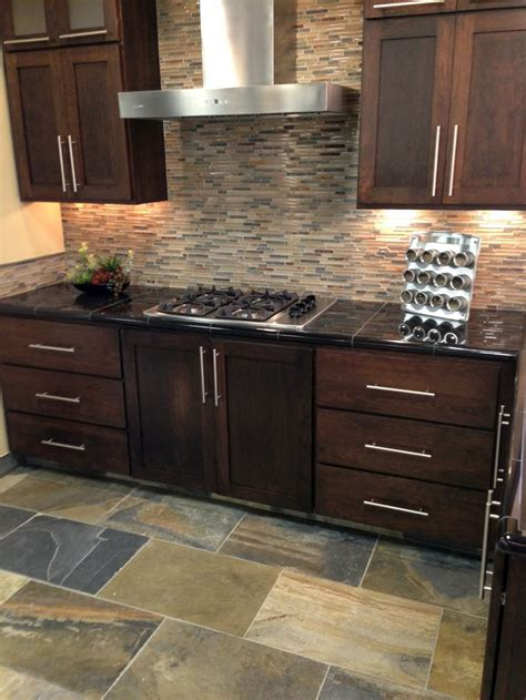 mosaic backsplash kitchen 19 best images about kitchen ideas on pinterest black granite oak cabinets and kitchen backsplash