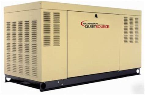 20kw guardian home standby generator model number 5210