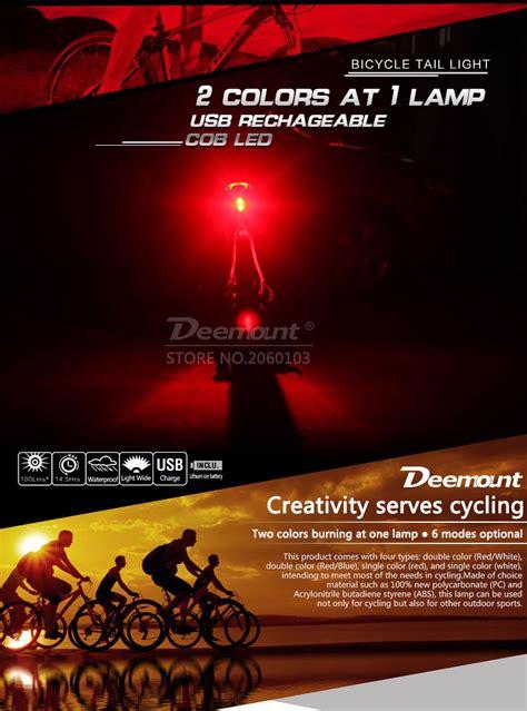 Helm Sepeda Eps Pvc Shell Dengan Lu Backlight deemount lu sepeda led taillight 120 lumens white jakartanotebook