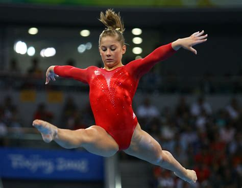 shawn johnson gymnastics wardrobe malfunctions shawn johnson in olympics day 7 artistic gymnastics zimbio
