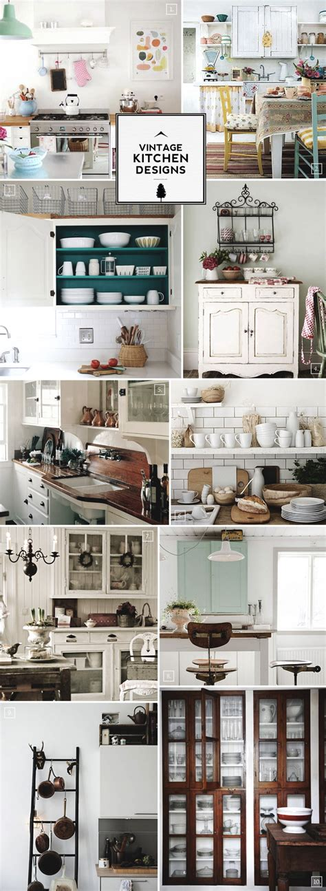 Old Kitchen Decorating Ideas by Vintage Kitchen Design Accessories And Decor Ideas