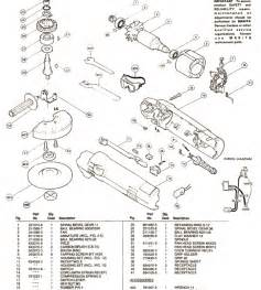 makita 9514b parts disc grinder