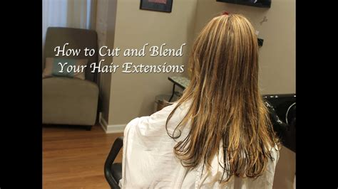 cut  blend hair extensions razor  texture part  youtube