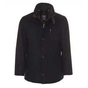 Bugatti Coats Mens Bugatti Tex Car Coat In Black