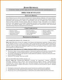 busboy resume sle exle of resume for finance assistant 28 images free