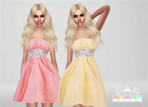 sims 4 royalty dresses romantic collection 3 dresses at fashion royalty sims