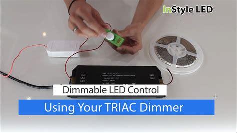how to set up led strip lights how to set up use your led strip light triac transformer