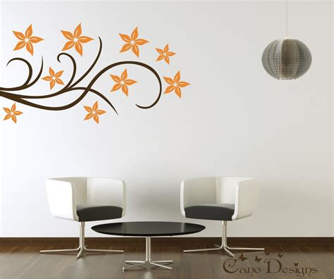 design wall art stickers floral design vinyl decal wall decals stickers removable