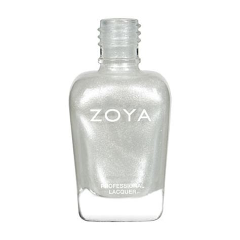 Toner White Zoya Cosmetics Zoya Nail In Ginessa Zp485