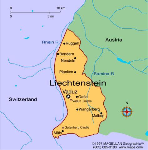 Checker Table Atlas Liechtenstein