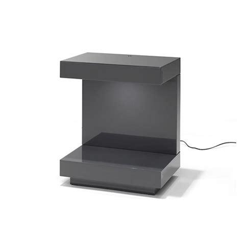 lade led design nachtkastje met lade en led verlichting