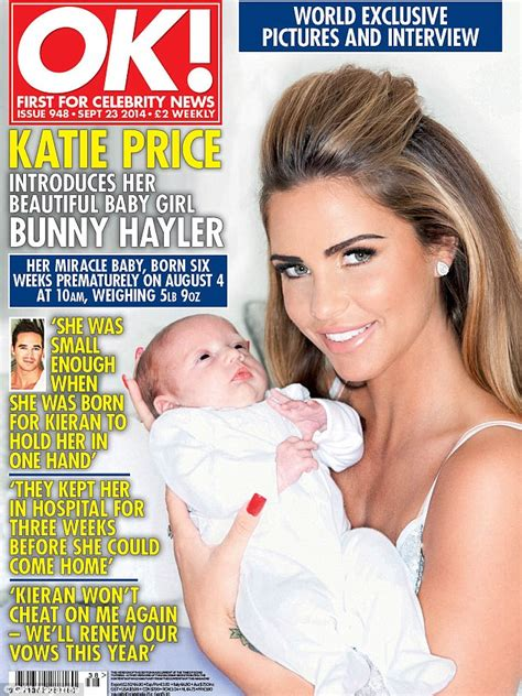 Katie Price calls daughter 'BUNNY' six weeks after her birth   Daily Mail Online