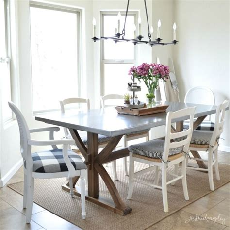 stainless steel dining room table best 25 dining tables ideas on