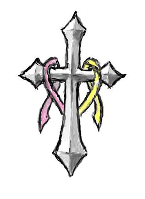 drawing of a cross clipart best