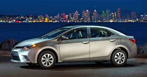 Toyota Corolla 2014 Gas Mileage Toyota Corolla Ditches Bland Styling Increases Mpg Cars