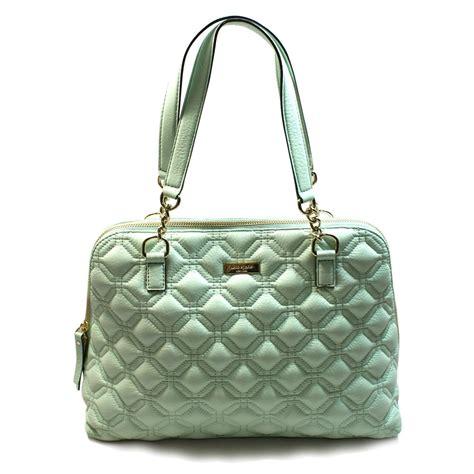 Sale Fashion Bag 5257 Leather Semipremiun kate spade rachelle astor court faded mint leather