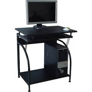 Walmart Laptop Desk Comfort Products Stanton Computer Desk With Pullout Keyboard Tray Walmart