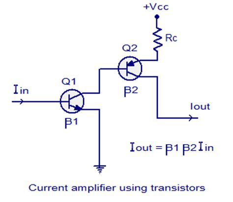 transistor as lifier electronics technology