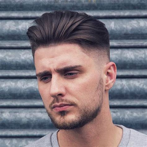 the top 20 men s hairstyles for thin hair throughout short best haircuts for guys with round faces men s haircuts