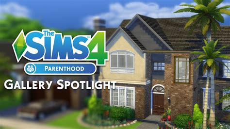 sims  parenthood gallery spotlight houses