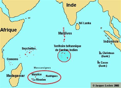 catamaran mauritius to reunion oc 233 an indien seychelles voyages cartes