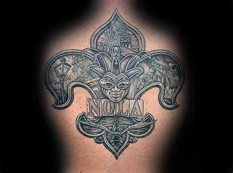 new orleans tattoo 70 fleur de lis designs for stylized ink