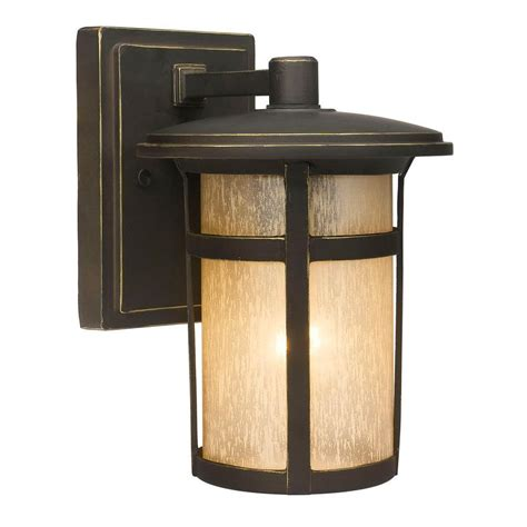 backyard lighting home depot home decorators collection round craftsman 1 light dark