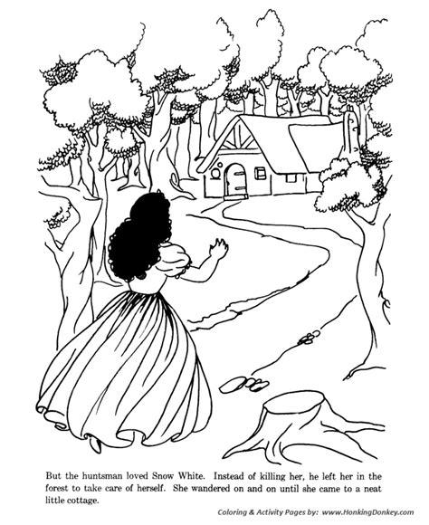 the princess a storybook to color snow white and the seven dwarfs tale story coloring