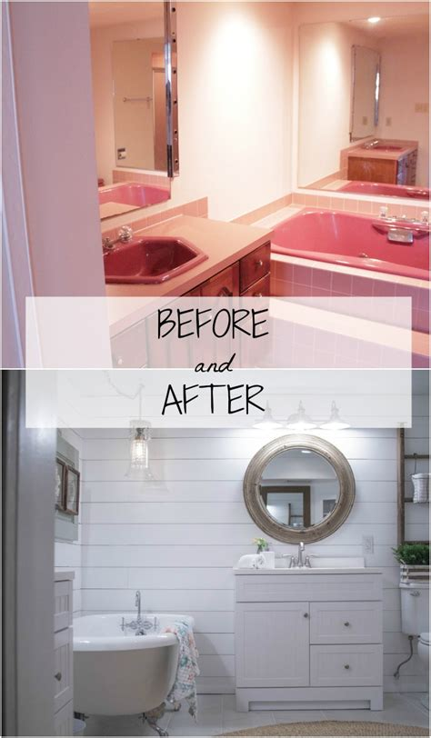 Lowes Bathroom Makeover by Complete Bathroom Makeover With Lowes Tessa Kirby