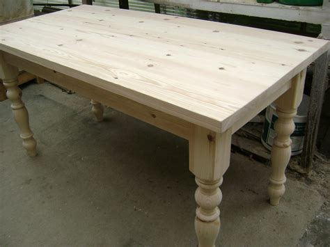 pine farmhouse kitchen table the pine dining table the barrister s