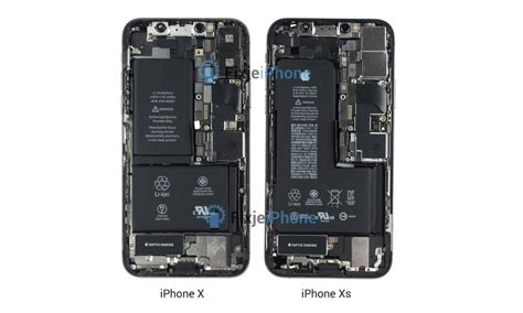 iphone xs teardown shows new battery increased water resistance
