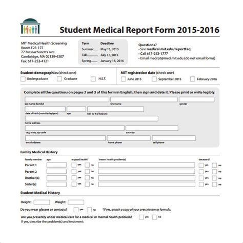 sle medical report template 20 free documents in pdf