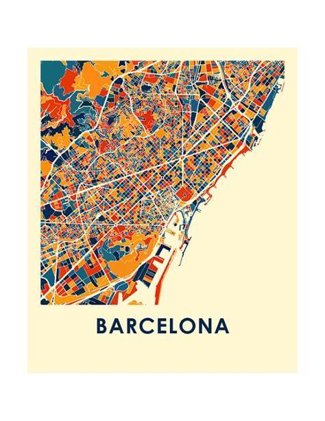 printable maps barcelona pinterest the world s catalog of ideas