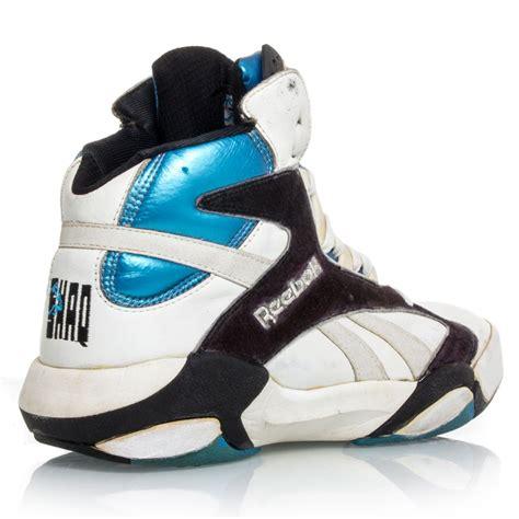 basketball pumps shoes buy reebok shaqnosis mens basketball shoes white