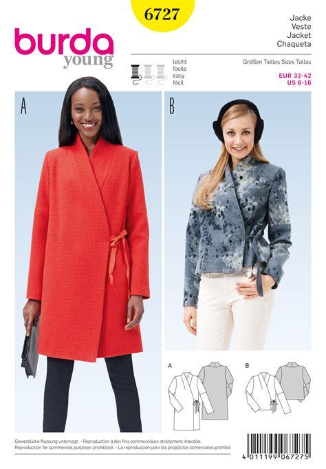 pattern review burda 7700 burda 6727 misses jacket