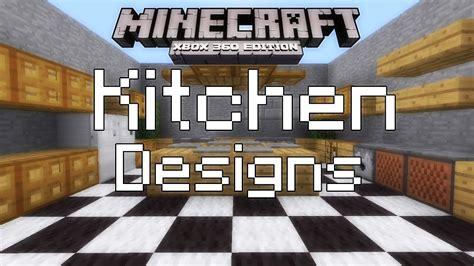Simple Kitchen Decor Ideas by Minecraft Xbox 360 Simple Kitchen Designs Youtube