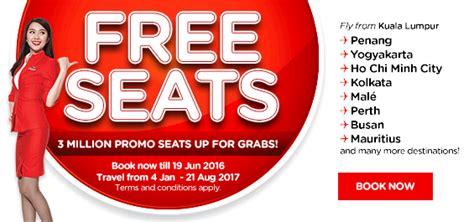 airasia free baggage airasia free seat promo returns economy traveller