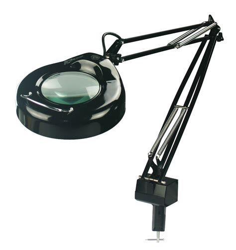desk magnifying glass with light lite source lsm 181blk magnify lite 5 diopter magnifying l