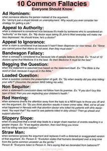 Logical Fallacy Essay Exles by Logical Fallacies Recognize Them In Speeches Articles Or Conversation To Help You Counter